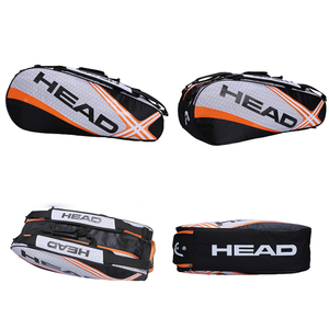 Head Tennis Bag Men Tennis Racket Bag Raquete De Tenis Backup Large Tennis Racquets Bag Tennis Backpack 3-6 Racquets Backpack