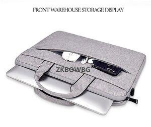 """Image 4 - מחשב נייד תיק כתף תיק שרוול מחברת מקרה עבור Lenovo ThinkPad 15.6 """"ideapad 14 אינץ יוגה 12.5 11 13.3"""" ultrabook שקיות"""