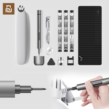 Wowstick 1F Mini Electric Screwdriver Rechargeable Cordless Power Screw Driver Kit with LED Light Lithium Battery