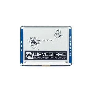 Raspberry Pi 4B/3B/Zero 4.2 cala e-ink Ddsplay czarny/biały e-papier Screeb 5 V/3.3 V z interfejsem SPI dla Arduino/Nucleo/STM32