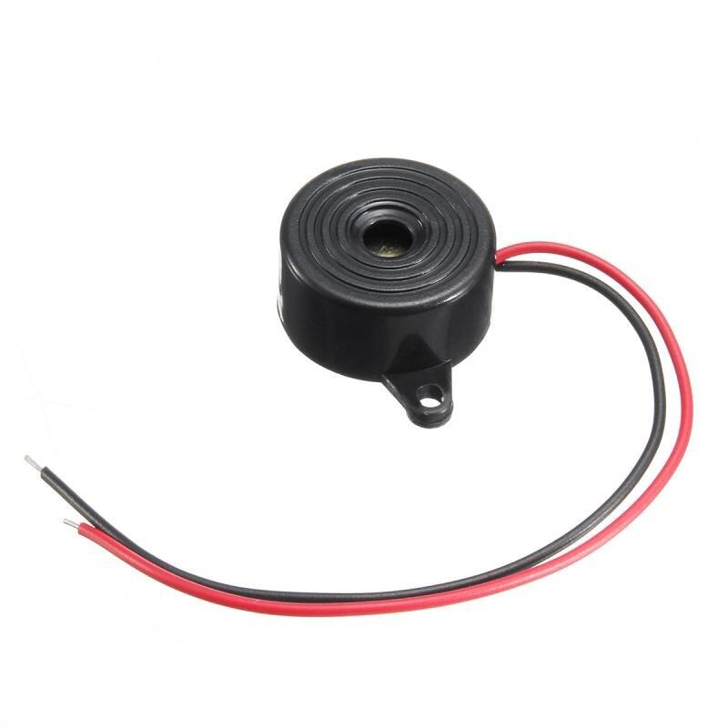 Yeni kullanışlı yeni varış dayanıklı 3-24V Piezo elektronik Buzzer Alarm 95DB sürekli ses Beeper oto araba için aksesuarları