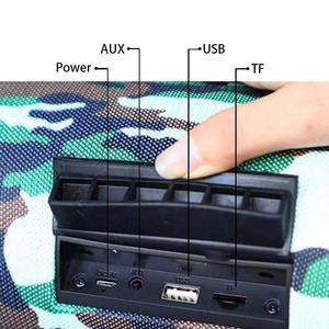 Image 4 - TG118 40W Bluetooth Speaker for PC Waterproof Portable Column wireless speaker subwoofer USB Speakers with FM Radio music center