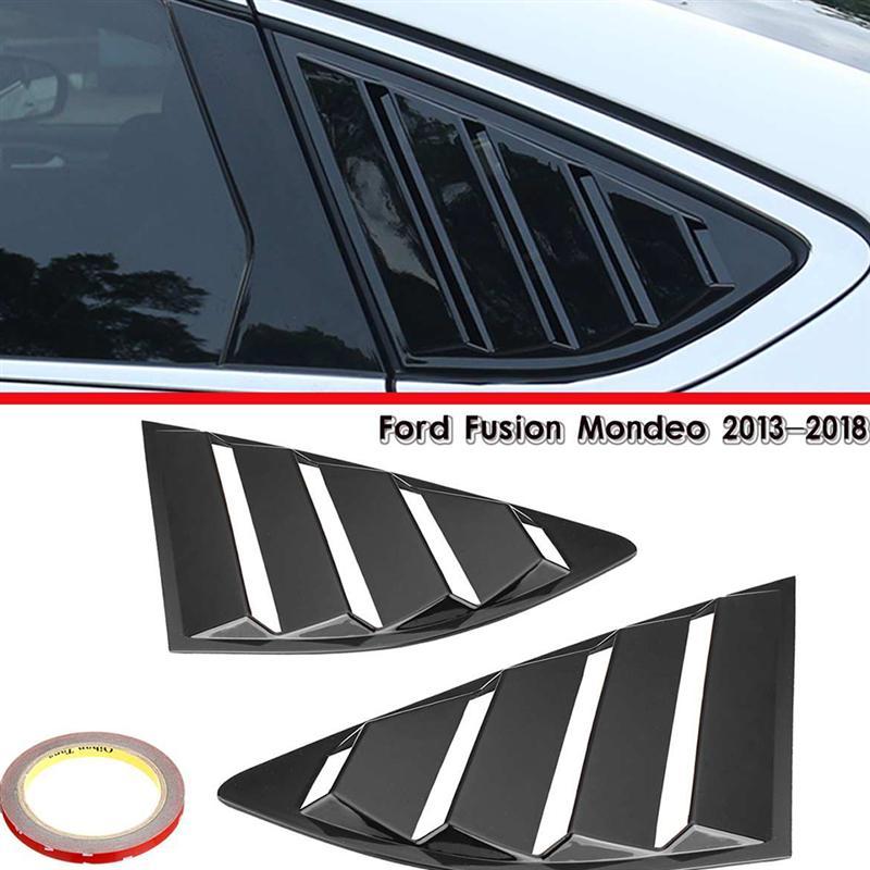 1 par de accesorios de ABS para coche, persianas de ventana trasera, persianas laterales de tubo, Panel de ventilación, persianas de coche ELEPHONE E10 Octa Core Smartphone 4GB 64GB 6.5