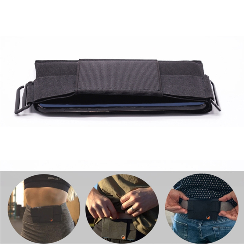 Outdoor Waist Belt Bag Waterproof Cycling Bag Travel Phone Anti-theft Passport Cash Pouch Sports Running Waist Pocket Jogging