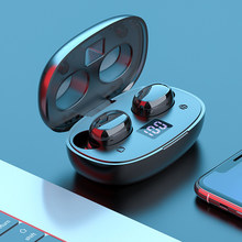 BTH-275 Binaural Touch LED Wireless Bluetooth Earphones Earbud TWS Touch Control Sport Headset Noise Reduction For All smartphon(China)