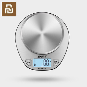 Image 1 - Youpin Mijia Xiangshan Electronic Kitchen Scale EK518 Silver Accurate Weighing Stainless Steel Scale High Precision Sensing