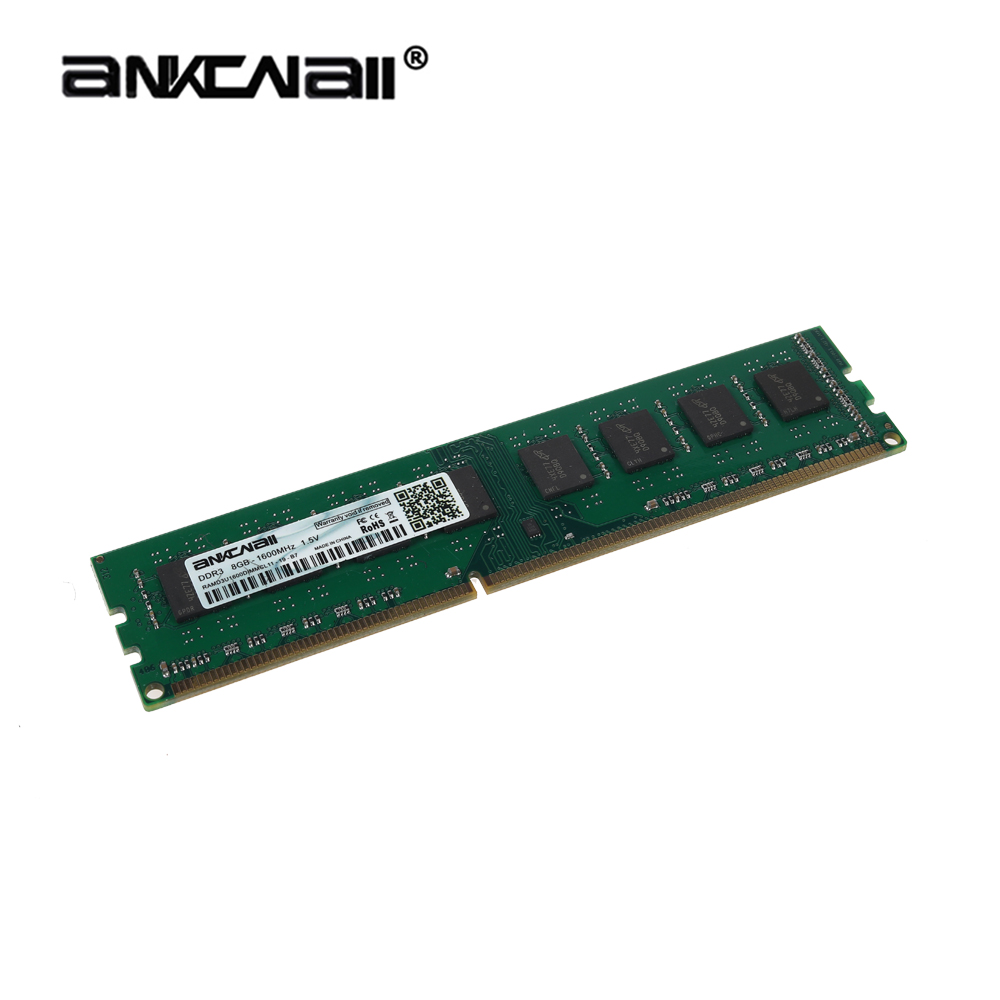 ANKOWALL DDR3 Desktop RAM with 2GB/4GB Capacity and 1866MHz/1600Mhz Memory Speed 5