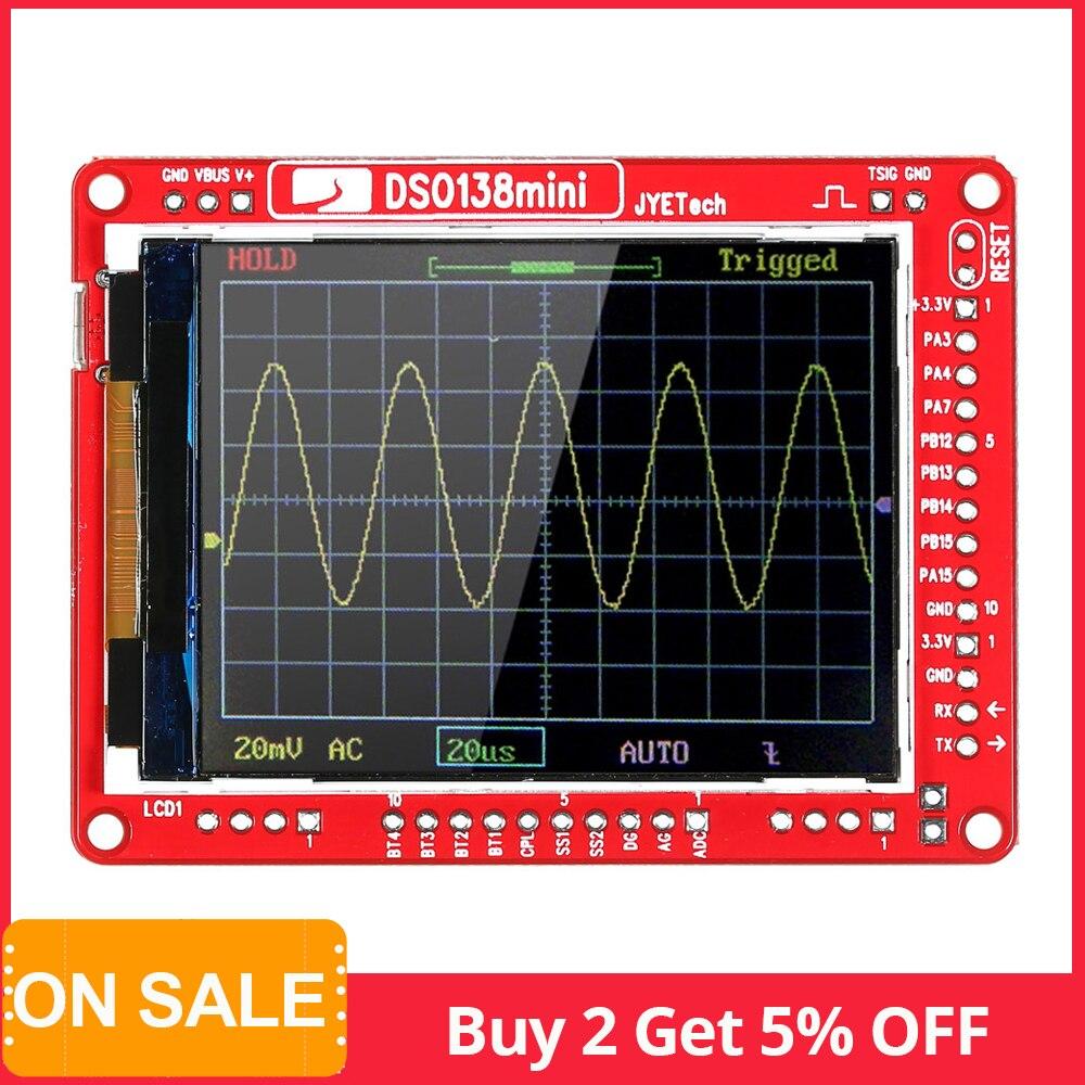 JYE Tech DSO138 13805K Mini Digital Oscilloscope DIY Kit SMD Parts Pre-soldered Electronic Learning Set Oscilloscopes