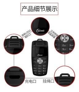 Image 4 - Mini llavero de teléfono con doble Sim, marcador de voz mágico, Bluetooth, grabadora de Mp3, Mini llave de coche para niños, teléfono móvil pequeño X6