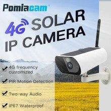 Y9 Không Dây GSM 4G SIM Thẻ Năng Lượng Mặt Trời Powered Giám Sát Camera cho Ngoài Trời Trong Nhà An Ninh Full HD 1080 P Bullet IP Máy Ảnh