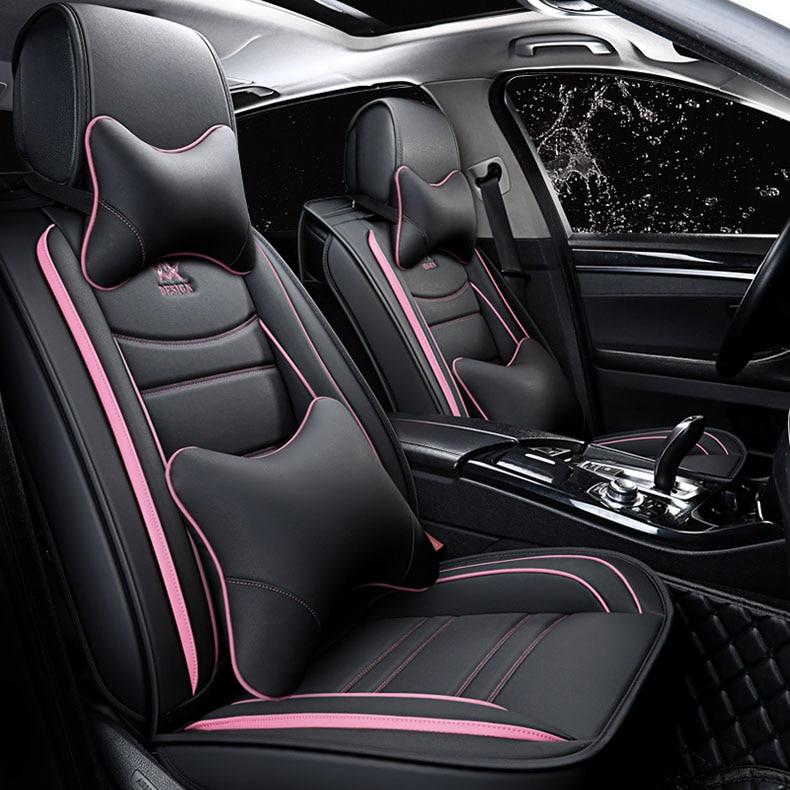 Couverture universelle de siège de voiture pour honda libéré lexus rx330 rx lc200 es lada 2107 2114 kia mohave brillant v5 couverture d'accessoires auto