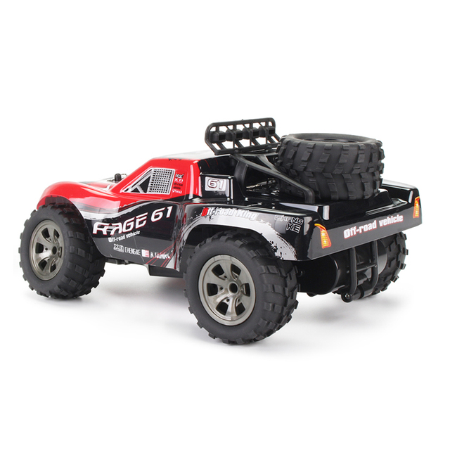 1:18 48KM/H 2.4G Machines Remote Control Model Vehicle Kids Electric RC Car Gift Climbing Big Tire Off Road Truck High Speed 3