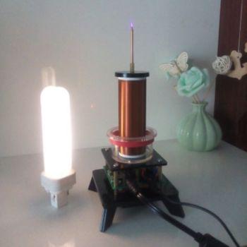 The Music of Tesla Coil / Plasma Horn / Plasma Speaker / Wireless Power Transmission / Air Lighting