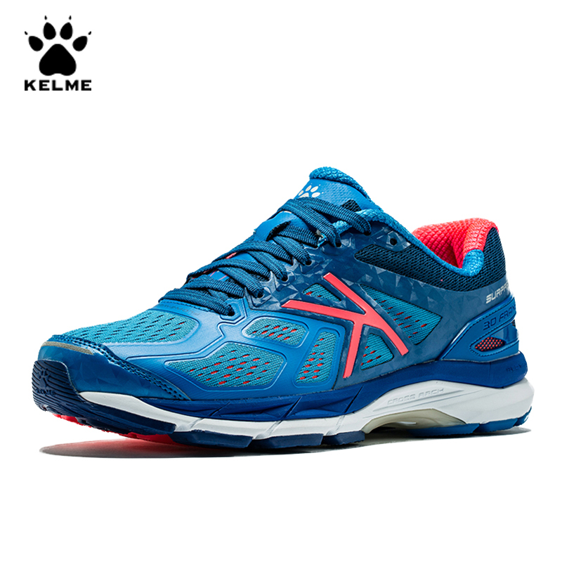 KELME Mens Sneakers Running Shoes Men Jogging Sport Casual  Breathable Trainers Outdoor Light Shoes Man Sneakers Male   6681104Running Shoes