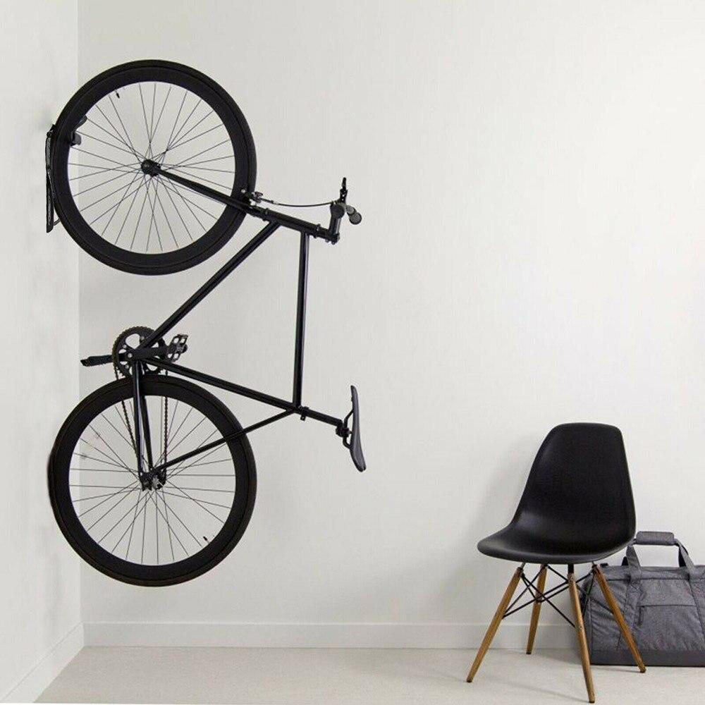 1/2 pièces vélo support mural monture pour support vélo VTT stockage mural support supports vélo acier mur cintre crochet