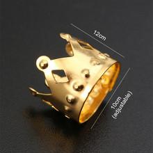 50 100 sztuk afryki biżuteria do włosów warkocz akcesoria dekoracje złoto srebro metalowe do włosów pierścień rury mankiety dredy strach koraliki tanie i dobre opinie COMBO CN (pochodzenie)