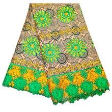 Kwanzaa дизайн голландский воск Африка настоящий голландский воск африканская кружевная лента Ткань 6 ярдов \ Лот