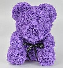 2019 HOT Valentines Day Gift 40cm Soap Foam Rose Teddy Bear Mold BearBirthday Party Weddingirl friend Women mot