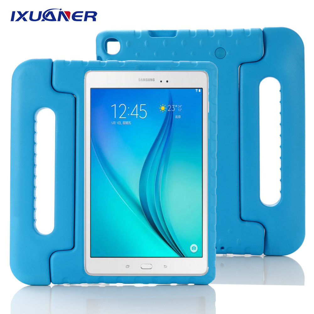 For <font><b>Samsung</b></font> Tab A 10.1 2019 <font><b>Case</b></font> Kids SM-<font><b>T510</b></font> T515 Shockproof EVA Cover for <font><b>Samsung</b></font> Galaxy Tab A 10.1 2019 Handle Stand Funda image