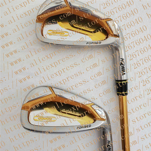 Image 4 - ゴルフクラブ完全なセット本間ベレS 07 4スターゴルフクラブセットドライバー + フェアウェイウッド + ゴルフアイアン + パター (14ピースなしゴルフバッグ) 送料無料