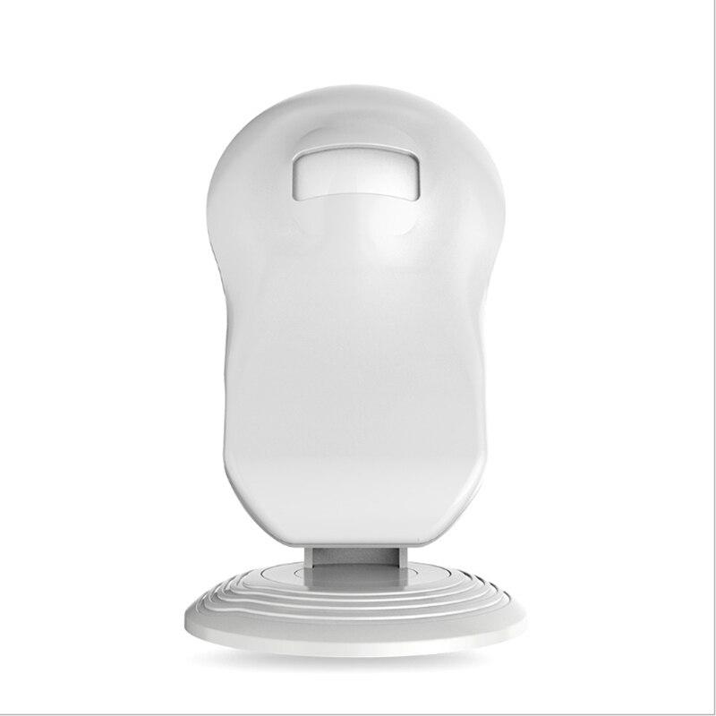 Tüketici Elektroniği'ten AC/DC Adaptörler'de Kablosuz kapı zili konuk karşılama zil alarmı Pir hareket sensörü dükkanı giriş güvenlik kapı zili kızılötesi dedektör title=
