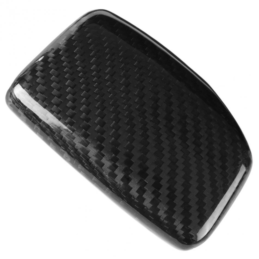 Image 3 - Real Carbon Fiber For AUDI A4 S4 RS4 B9 A5 S5 RS5 Q5 Q7 2016 2017 2018 2019 AT Car Styling Gear Shift Knob Head Cover Trim LHD-in Car Stickers from Automobiles & Motorcycles