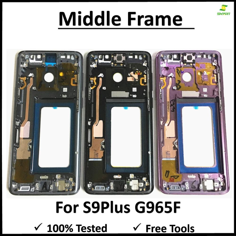 S9+ S9plus Midplate Bezel Chassis Housing Middle Frame Metal Mid Plate Housing Bezel For Samsung Galaxy S9 Plus G965 G965F