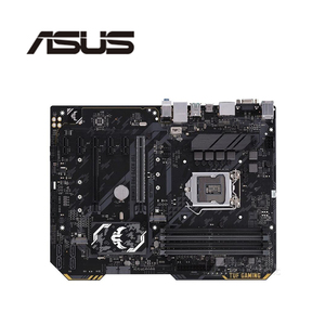 For Asus TUF TUF H370-PRO GAMING Original Used Desktop Intel H370 H370M DDR4 Motherboard LGA 1151 i7/i5/i3 USB3.0 SATA3(China)