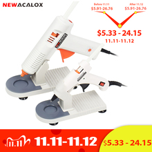 NEWACALOX 20W/150W 접착제 총 EU/US 100 240V 고온 핫 접착제 총 7mm/11mm 핫멜트 접착제 스틱 이식 수리 공압 DIY 도구