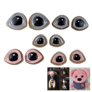 Doll-Accessorie Eyelash-Doll Craft-Supplies Teddy Snap Eyes DIY Bear Stuffed-Toys