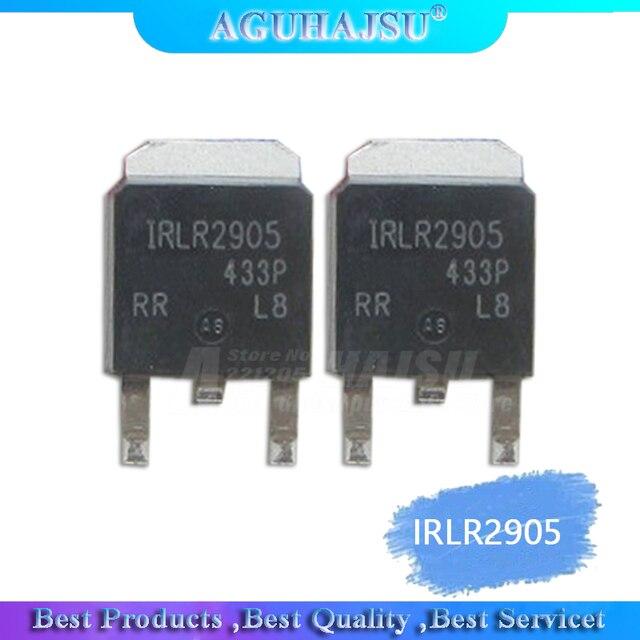 10PCS IRLR2905 כדי 252 IRLR2905TRPBF TO252 SMD D PAK תיקון mos FET MOSFET 55V 36A
