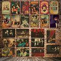 [WellCraft] металлическая табличка настенная Оловянная вывеска кино плакаты искусство винтажная живопись индивидуальный декор искусство