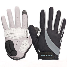 cycling gloves winter warm full finger sports long finger Gel Gloves for MTB bike Road bicycle