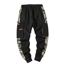 palm and angels PYROTECHNIC&CO Trousers Men's New Spring and Autumn 2019 Overalls Fashion Leisure Sports Pants DS534#(China)