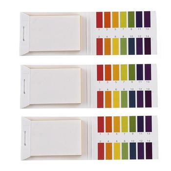 80 sztuk przydatne paski do testowania PH paski testowe 1-14 papier lakmusowy Tester moczu i śliny wygodne PH narzędzia do testowania tanie i dobre opinie NONE CN (pochodzenie) PH Litmus Indicator 1 x books containing 80 strips