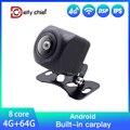 Универсальная задняя камера высокого разрешения CCD светодиодный светодиодной подсветкой для автомобильного радио, DVD-плеера