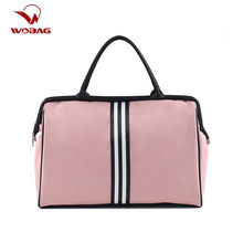 Women Fashion Sports Gym Bag Ladies Training Yoga Bag Casual Outdoor Travel Duffle Bag Weekend Overnight Bag(China)