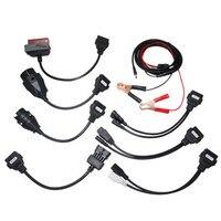 Promotion OBDII OBD2 Full Set 8 Car Cables Car Cables OBD Diagnostic Scan Tool Truck cables