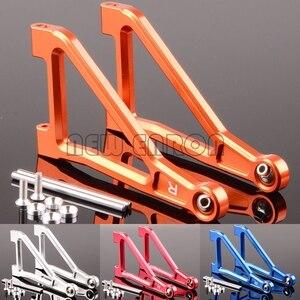 Image 1 - ENRON bras de Suspension supérieure avant, en aluminium, 2 pièces, 1/7 1:7 #8531 pour Traxxas Desert Racer UDR illimité