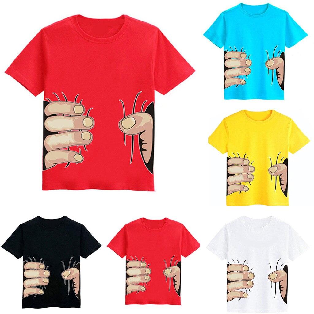 Autumn Solid Cotton Sweatshirt 2 3 4 5 6 7 8 Years Boy Girl T Shirts Kids Boys T-shirts Baby Long Sleeve Excavator Tops Children