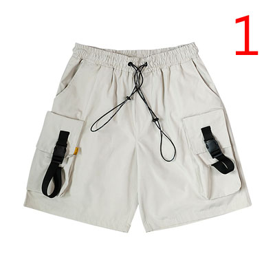 Summer Hole Denim Shorts Men's Five Points Pants Korean Version Of The Trend Loose 5 Points Thin Section