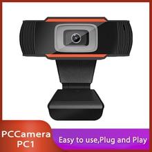 Webcam Mini Computer Web-Camera Laptop Youtube Skype 720P Full-Hd 1080P Video-Recording