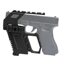 Tactical Pistol Carbine Kit Glock Airsoft Air Guns Mount For CS G17 18 19 Gun Accessories Loading device Hunting high quantity