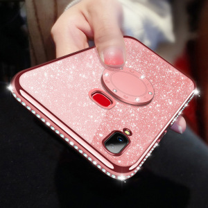 Rhinestone Case Diamond Cover For Xiaomi Mi 6X 8 9 SE Max 3 CC9 A2 A3 Lite Redmi 5 Plus 6A Note 5 6 7 K20 Pro Coque Funda(China)