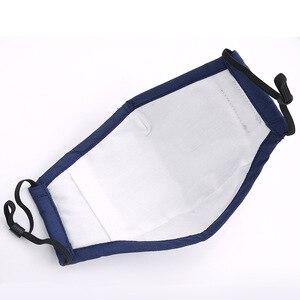 Image 2 - Reuseable שחור פנים מסכות מסכה שחורה עבור פה כותנה הנשמה מסיכת הפנים Confortable לנשימה Masker מהיר חינם