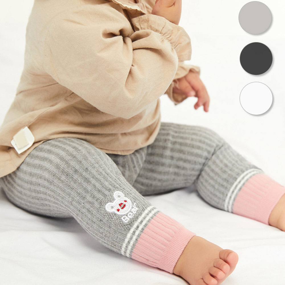 Baby Pantyhose Children Pants Boys Girls Strip Knitted Leggings Kids Novelty Casual Leggings