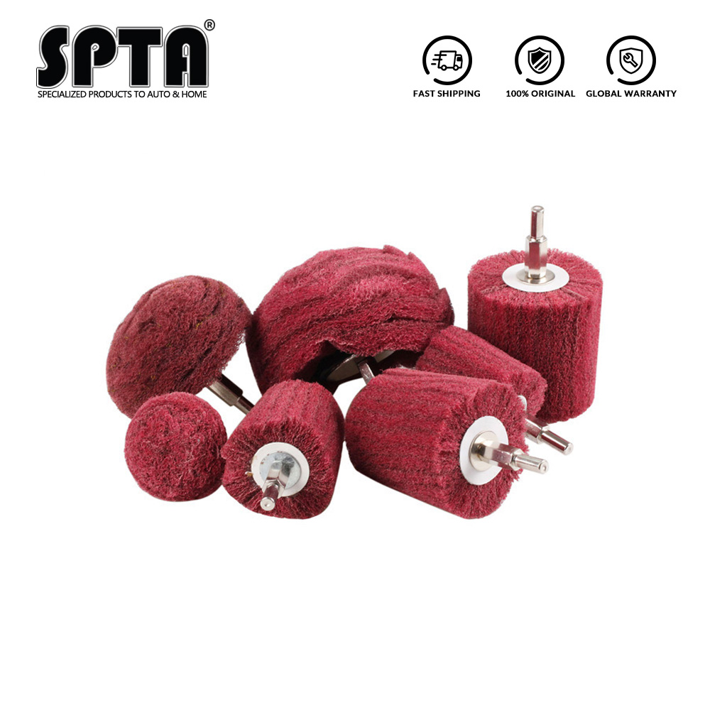 5x Polishing Buffing Pad Mop Wheel Drills For Polisher Aluminum Stainless Steel