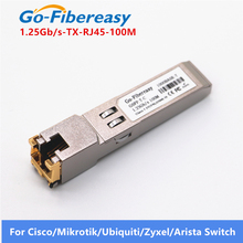 SFP RJ45 Gigabit โมดูล 1000Mbps TX SFP RJ45 ทองแดงสวิทช์โมดูล Cisco/Mikrotik SFP Fiber Optic Gigabit โมดูล