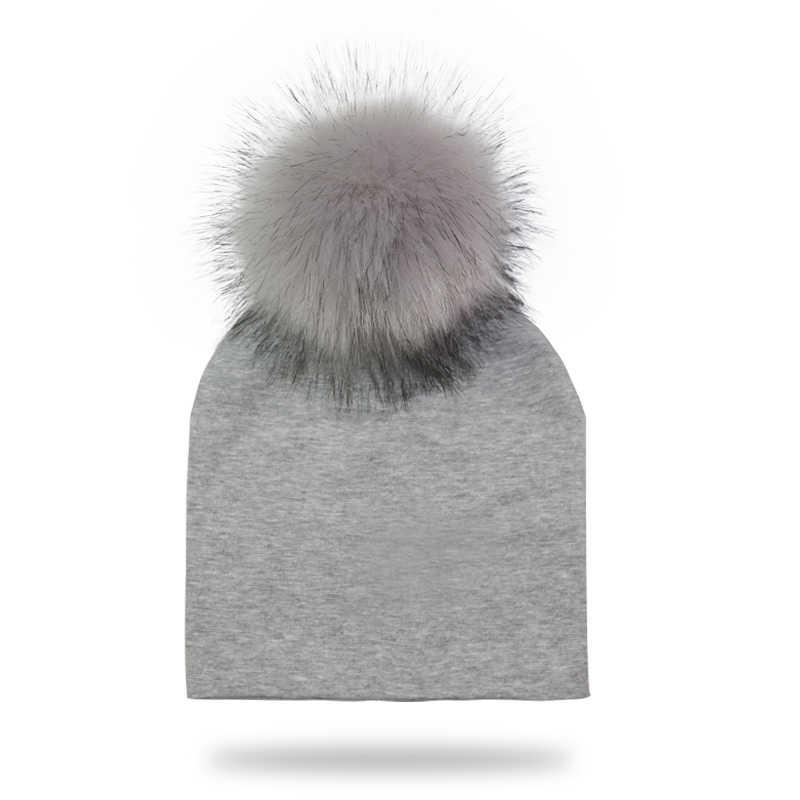หมวกเด็กทารกแรกเกิดการถ่ายภาพ Props เด็กผ้าฝ้าย Pompom หมวกหมวกฤดูหนาวสำหรับเด็กทารก Bonnet เด็กอุปกรณ์เสริม