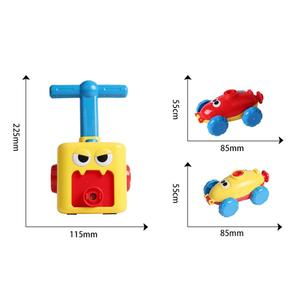 Image 5 - חינוך מדע ניסוי צעצוע אינרציה כוח בלון מכונית צעצוע פאזל כיף כוח האינרציה רכב בלון צעצועים לילדים מתנה